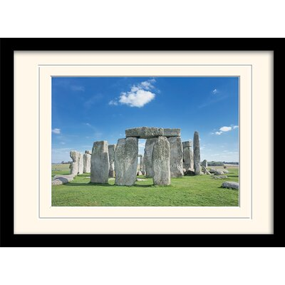 Art Group Stonehenge Mounted Framed Photographic Print