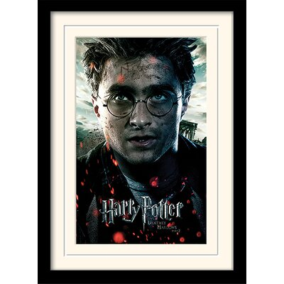 Art Group Harry Potter Deathly Hallows Part 2 - Harry Framed Vintage Advertisement