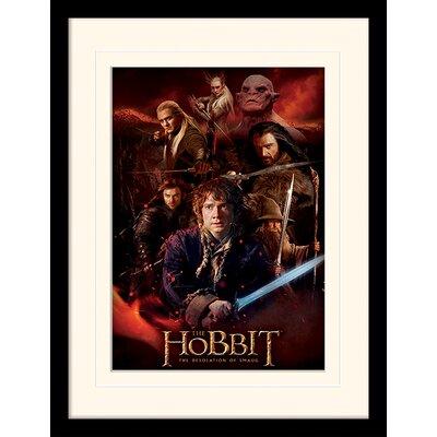 Art Group Fire Montage - The Hobbit DOS Framed Vintage Advertisement