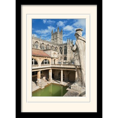 Art Group Roman Baths Bath Framed Photographic Print