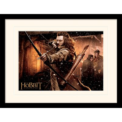 Art Group Bard - The Hobbit DOS Framed Vintage Advertisement