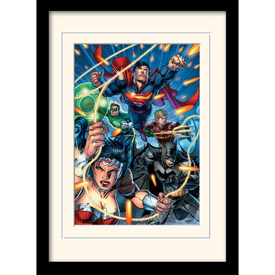 Art Group DC Comics Justice League Attack Framed Graphic Art
