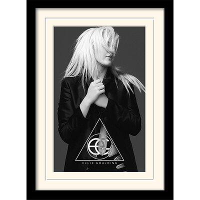 Art Group Ellie Goulding Halcyon Framed Vintage Advertisement