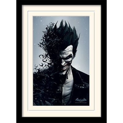 Art Group Joker Batman Arkham Origins Framed Vintage Advertisement