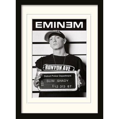 Art Group Eminem Mugsho Framed Graphic Art