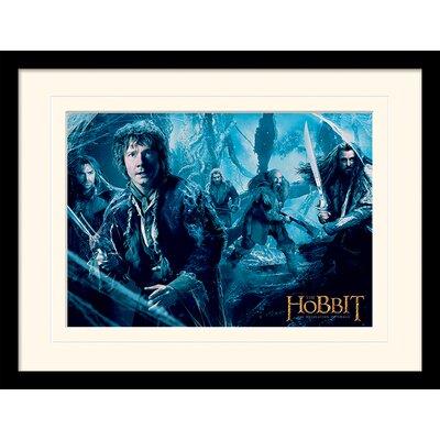 Art Group Mirkwood - The Hobbit DOS Framed Vintage Advertisement