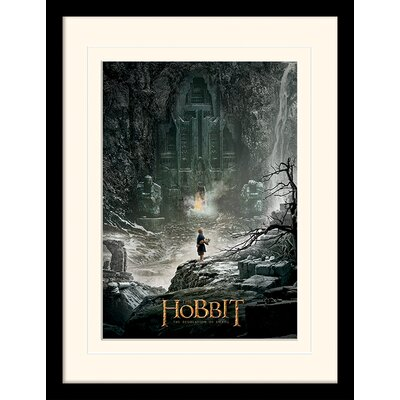 Art Group Teaser - The Hobbit DOS Framed Vintage Advertisement