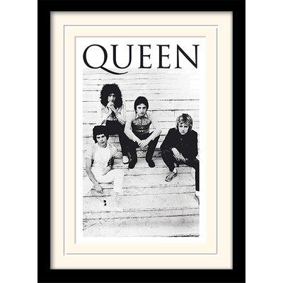 Art Group Queen Brazil 81 Framed Vintage Advertisement