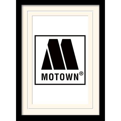 Art Group Motown Logo Framed Graphic Art