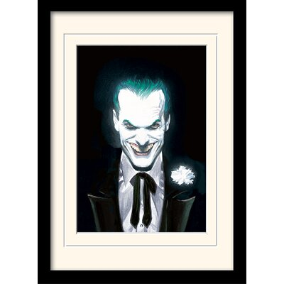 Art Group DC Comics Joker Suited Framed Graphic Art