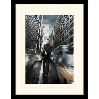 Art Group Jack Bauer NYC 24 Mounted Framed Vintage Advertisement