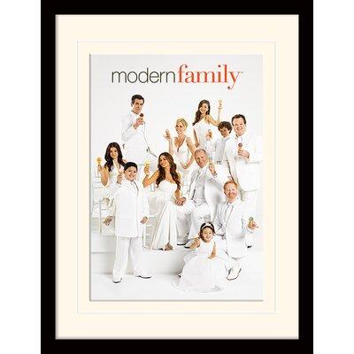 Art Group Modern Family Ice Cream Framed Vintage Advertisement
