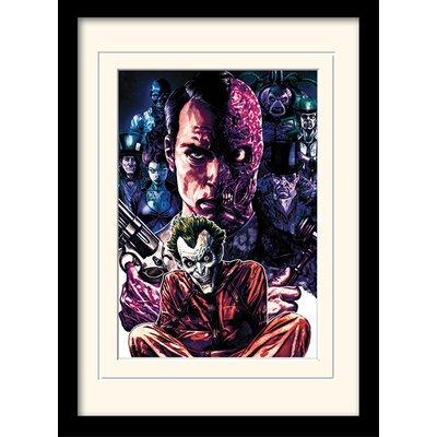 Art Group DC Comics Criminally Insane Framed Graphic Art