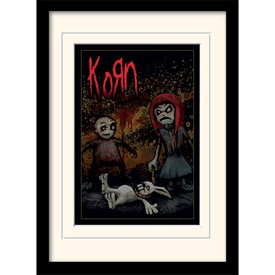 Art Group Korn - Dead Bunny Framed Graphic Art