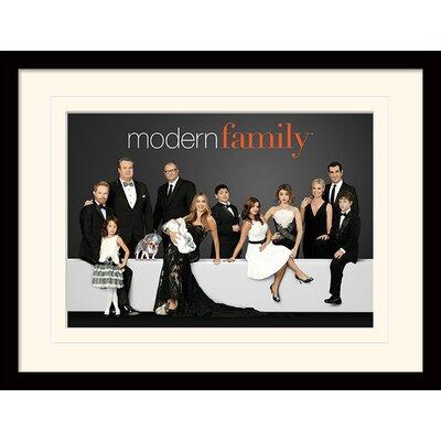 Art Group Modern Family Suits Framed Vintage Advertisement