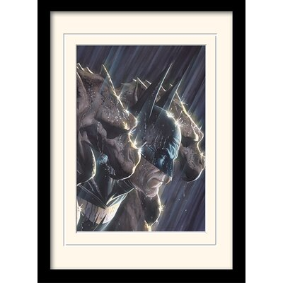 Art Group DC Comics Gotham's Protecto Framed Graphic Art
