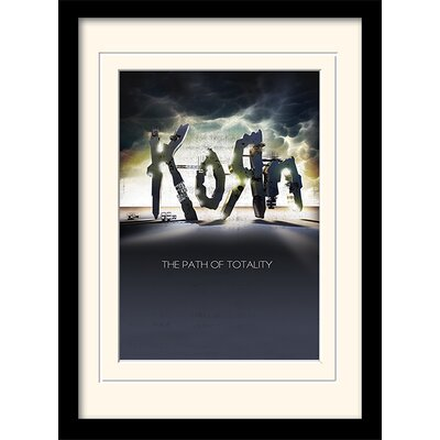 Art Group Korn - The Path of Totality Framed Graphic Art