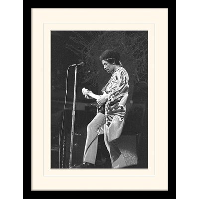 """Art Group Jimi Hendrix """"Stage"""" Framed Photographic Print"""