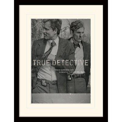 Art Group Touch Darkness - True Detective Photographic Framed Vintage Advertisement