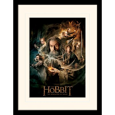 Art Group The Hobbit - DOS Framed Vintage Advertisement