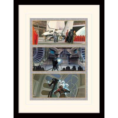 Art Group Star Wars The Final Battle Framed Graphic Art