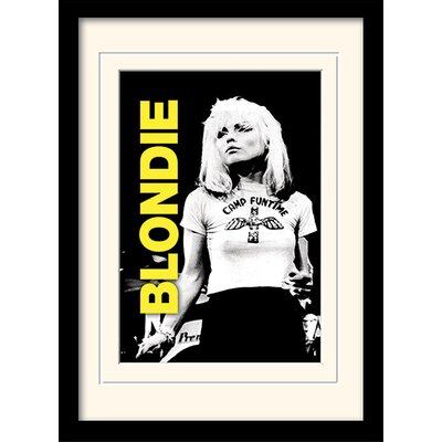 Art Group Live Blondie Framed Photographic Print
