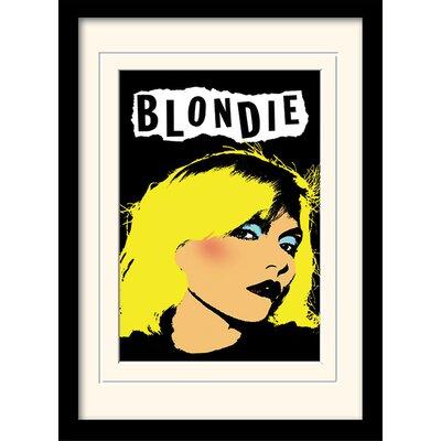 Art Group Punk Blondie Framed Graphic Art
