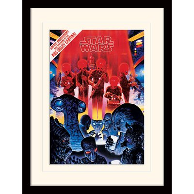 Art Group Star Wars Mos Eisley Cantina Framed Vintage Advertisement