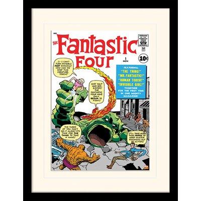 Art Group Fantastic Four Creature Framed Vintage Advertisement