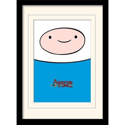 Art Group Adventure Time Finn Framed Graphic Art