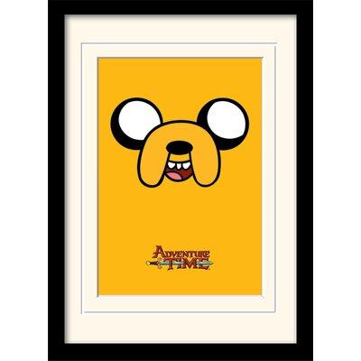 Art Group Adventure Time Jake Framed Graphic Art