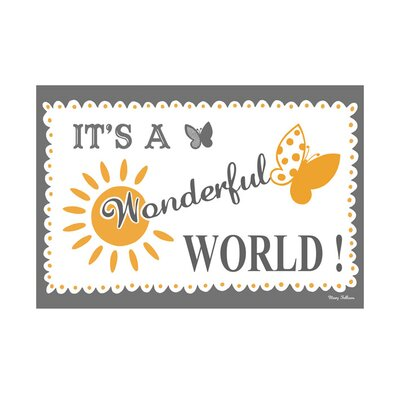 Art Group It's a Wonderful World by Mary Fellows Graphic Art