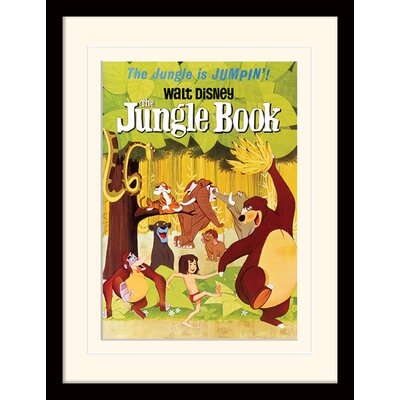 Art Group Jumpin - The Jungle Book Framed Vintage Advertisement
