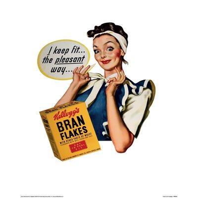Art Group Vintage Kelloggs - I Keep Fit Vintage Advertisement