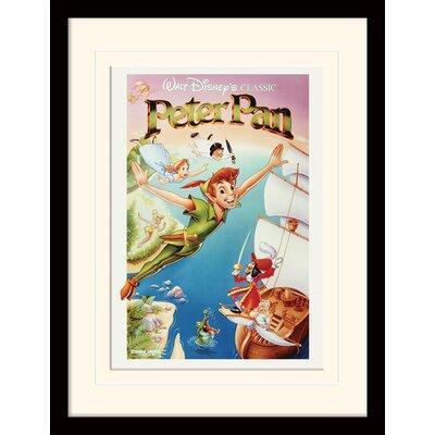 Art Group Peter Pan Flying Framed Vintage Advertisement