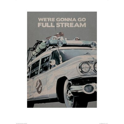 Art Group Ghostbusters EctoMobile Graphic Art