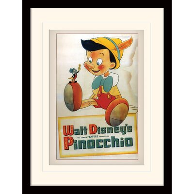 Art Group Pinocchio Conscience Framed Vintage Advertisement