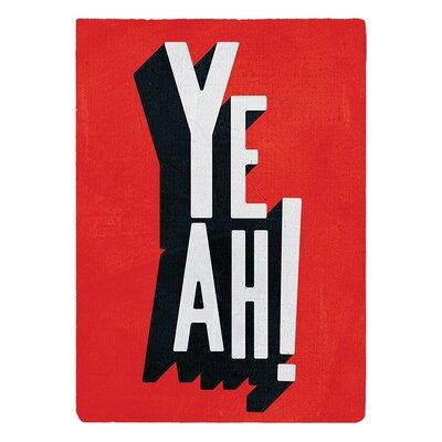 Art Group Yeah by Edu Barba Typography