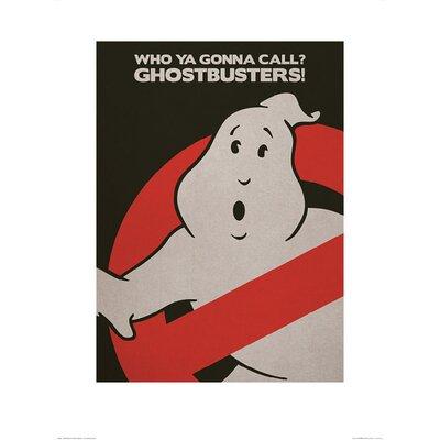 Art Group Ghostbusters Logo Vintage Advertisement