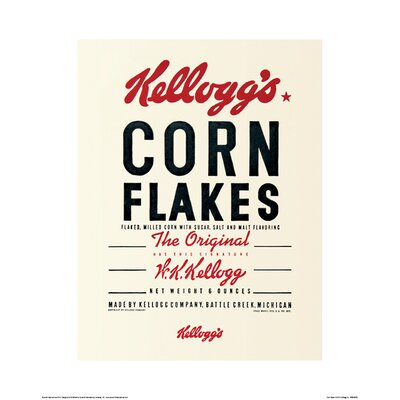 Art Group Vintage Kelloggs, Corn Flakes Vintage Advertisement