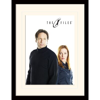 Art Group Bleached - The X-Files Framed Vintage Advertisement