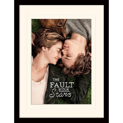 Art Group The Fault in Our Stars Framed Vintage Advertisement