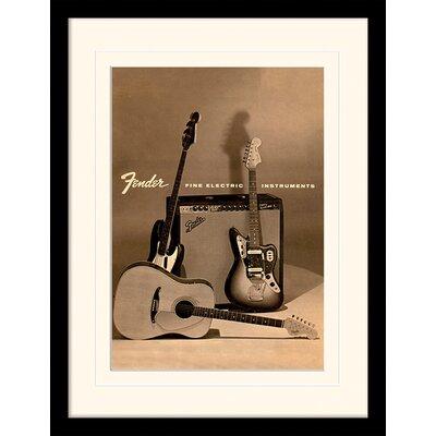 Art Group Fender Vintage Framed Vintage Advertisement
