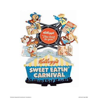 Art Group Vintage Kelloggs - Sweet Eatin Carnival Vintage Advertisement