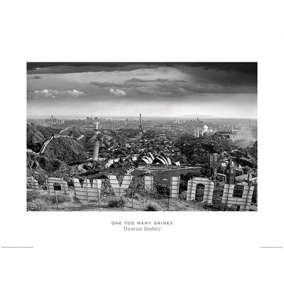 Art Group One Too Many Drinks by Thomas Barbey Photographic Print