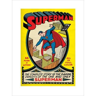 Art Group Superman No.1 Vintage Advertisement