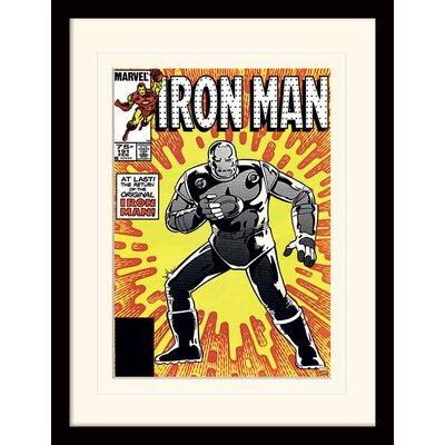 "Art Group Iron Man ""Original"" Framed Vintage Advertisement"