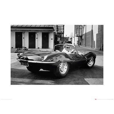 Art Group Time Life - Steve McQueen Jaguar Photographic Print