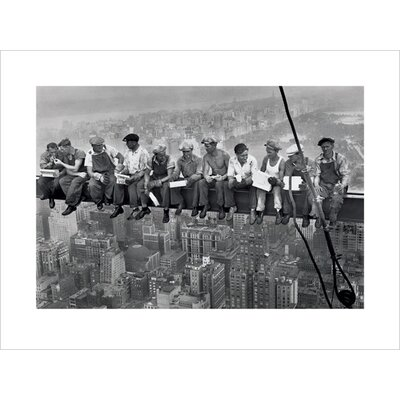 Art Group Lunch on a Skyscraper Photographic Print