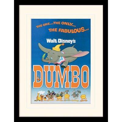 Art Group Dumbo The Fabulous Framed Vintage Advertisement